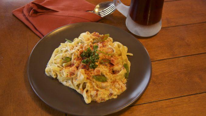 Seafood Pasta From Alaska
