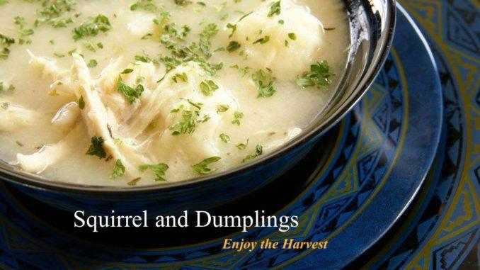 Squirrel and Dumpling Recipe